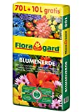 Floragard Blumenerde 70 L + 10 L gratis • Universalerde...