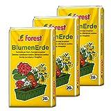 Universal-Blumenerde 3 Sack á 20 Liter = 60 Liter...