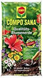 COMPO SANA Qualitäts-Blumenerde mit 8 Wochen Dünger für...